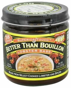 Better Than Bouillon Lobster Base broth 8.0 OZ (Pack of 2) 8 Ounce