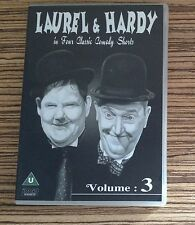 DVD - LAUREL AND HARDY Vol 3 - Comedy Shorts - Along Came Auntie etc