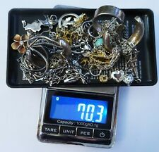 Vintage Lot Sterling 925 Jewelry Charms Earrings Bracelets Necklaces 70 Grams GF