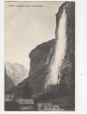 Lauterbrunnen Staubbach [M9754] Switzerland 1912 Postcard 211b