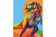 PAINTING BY NUMBERS RAINBOW DINOSAUR T16130007