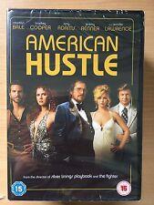 Amy Adams Christian Bale Bradley Cooper AMERICAN HUSTLE ~ Classic BNIB UK DVD