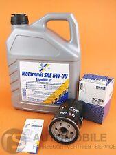 Aceite de Motor+Filtro 5W-30 SAE Longlife + Mahle OC264 Filtro VW Cartechnic