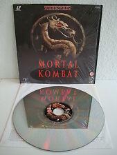 Mortal Kombat   Laserdisc PAL Englisch   LD: Wie Neu   Cover: Wie Neu   Mint