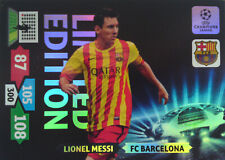 ADRENLYN XL PANINI CHAMPIONS LEAGUE 2013 2014 LIMITED EDITION Messi