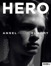HERO Magazine #12 Ansel Elgort,Hedi Slimane,Dries Van Noten,Xavier Samuel NEW