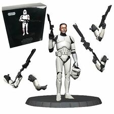 Star Wars Clone Trooper White Deluxe 1/6 Scale Statue GENTLE GIANT