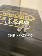 World of Warcraft 15th Anniversary Retired Server Blade x2 REPLACEMENT SCREWS