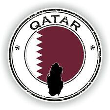 Qatar Sello Sello Pegatina para Coche Camión Portátil Tablet Nevera Puerta