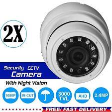 2 x 1080p 2.4MP Sony CCTV Dome Camera Full HD CVI TVI AHD Analog Night Vision