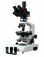 Radical Trinocular Polarizing Microscope W Rotating Stage Bertrand Lens Full ...