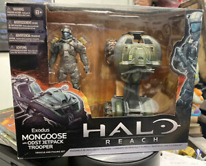 2011 Halo Reach Exodus Mongoose With ODST Jetpack Trooper McFarlane Toys SEALED