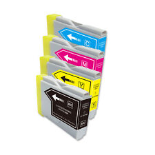 4 PK B C M Y Ink Cartridges fits Brother Series LC51 MFC 685CW 845CW 885CW