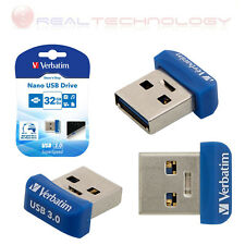 VERBATIM Pen Drive 32GB Verbatim Store n Stay Nano USB 3.0 BLU 98710 Type-A