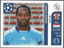 PANINI UEFA CHAMPIONS LEAGUE 2011-12- #244-AJAX-KENNETH VERMEER