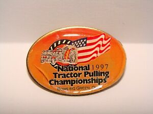 National Tractor Pulling Championship 1997 pin Bowling Green Ohio puller lapel