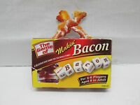 The Game of Makin' Bacon Dice Game by TDC Games Complete
