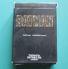 New & Sealed Batman Playing Cards - 1 Deck
