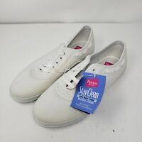 Vintage Hanes Womens Sport Casual White Sara Shoes 6003558 Size 8.5 W New Rare