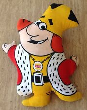 VINTAGE 1973 BURGER KING DOLL THE KING SOFT CLOTH TOY COLLECTIBLE