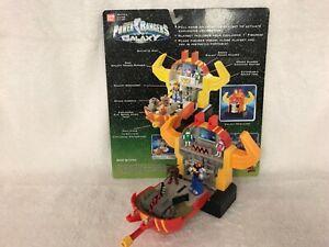 1998 Power Rangers Lost Galaxy's Galaxy Megazord Micro Playset COMPLETE