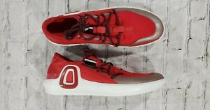ECCO Danish Design Red Casual Slip On Loafer Driving Moccasins Shoes MENS SZ 9.5