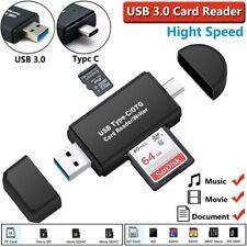 Kartenleser Speicherkartenleser Micro SD Card Reader Micro USB 3.0 OTG Adapter