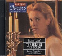 Henry James The Turn Of The Screw 2CD Audio Book Abridged Talking Classics