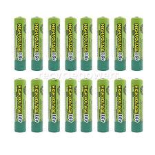 16pcs 900mWh 1.6V Volt AAA 3A NiZn Rechargeable Battery PowerGenix Nickel Zinc
