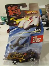 Hot Wheels Speed Racer GRX race car with Spear Hooks