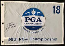 Jack Nicklaus Signed Oak Hill PGA Championship Golf Pin Flag Autograph Masters