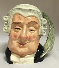 Large Royal Doulton Character Toby Jug 1958 The Lawyer D6498