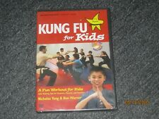 Kung Fu for Kids YMAA age 7-12 exercise workout DVD -Martial Arts -External -NEW