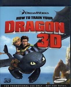 HOW TO TRAIN YOUR DRAGON 3D Blu-Ray. Samsung Promo. 1 x 3D Rb Blu-Ray