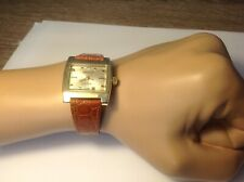 VERY COOL MENS LONGINES 370 GOLD MEDAL WATCH