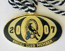 Collingwood Football Club AFL 2007 Social Members Badge Pin Rare Vintage (H4)