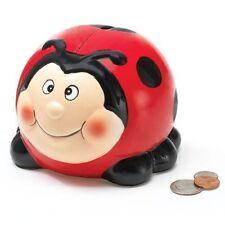 New Burton & Burton Ladybug Shape Bank