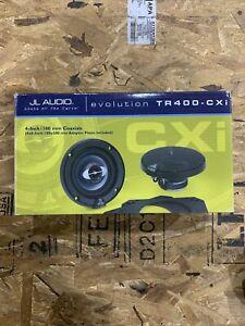 JL Audio TR400 CXi Evo Coaxials Speaker Pair Set 87606TB NEW