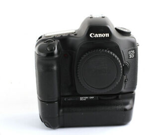 Canon EOS 5D 12.8 MP Digital SLR Camera - Black (Body Only)