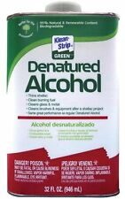 Denatured Alcohol - Cleans Brushes & Tools After A Shellac Project 1 Quart