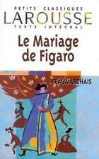 Le Mariage de Figaro (Petits Classiques)