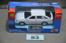 Poland Welly Polonez Caro Plus 1:34 Diecast Model In White Opening Doors New Box