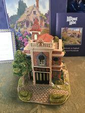 Rare Ray Day Lilliput Lane Ltd Ed Disney Fire Station #105 Signed Disneyana Mib