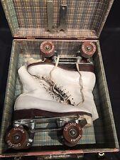 Vtg Womens Roller Skates Size 7 Gloria Nord Cleveland Model 200 Chicago Wheels