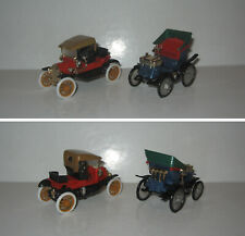 FORD T 1907 + PEUGEOT 4HP PARIS-MARSEILLE,GUISVAL 1:43,TBE,VGC (MINIALUXE,SAFIR)
