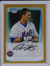 Reese Havens 2011 Bowman Chrome Gold Refractor #'d /50 New York Mets