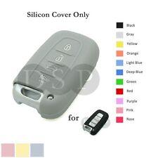 Silicone Cover fit for HYUNDAI Elantra Sonata Veloster Smart Remote Key Case GY