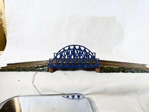 Bing Bridge Metallic Train IN O Sheet Metal 30 11/16in