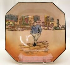 """Royal Doulton Dickens Ware THE FAT BOY octagon shaped Bowl 8 1/2"""""""