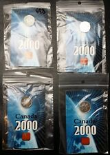 Lot of 4x 2000 Sterling 925 Silver Pride Lapel Pin in Cards